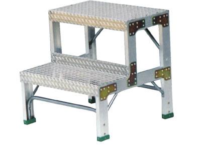 【ナカオ】G型作業用踏台0.6m G-062【TN】【TC】【作業用踏台(アルミ製)/作業用踏台/はしご・脚立/ナカオ】