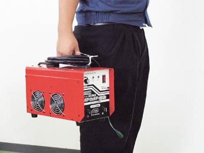 【日動】直流溶接機 インバーター直流溶接機 100V専用 100A PW-100S【TN】【TC】【アーク溶接機/電気溶接機/溶接用品/日動工業】