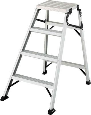 激安本物 【ハセガワ】折り畳み式作業台 WDC-100【TN】【TC】【折りたたみ式作業用踏台(アルミ製)/作業用踏台/はしご・脚立/長谷川工業】:ゆにでのこづち-DIY・工具