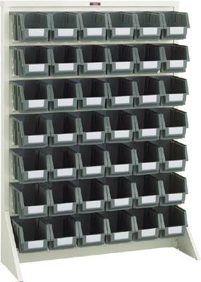 【TRUSCO】TRUSCO パネルコンテナラック片面床置式910×320×1240 ネオグレ T1242N【保管管理用品/パネルラック/図面/トラスコ】【TC】【TN】