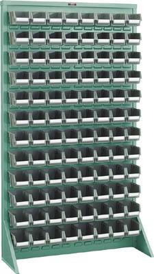 【TRUSCO】TRUSCO パネルコンテナラック片面床置式910×320×1600 緑 T16128N【保管管理用品/パネルラック/図面/トラスコ】【TC】【TN】