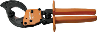 [フジ矢]フジ矢 ケーブルカッターラチェットタイプ FRC-32A [作業用品 電設工具 ケーブルカッター フジ矢(株)]【TC】【TN】