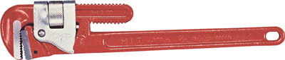 【HIT】パイプレンチ900mm PU-900【TN】【TC】【ヒット商事/パイプレンチ(スチール製)/パイプレンチ】