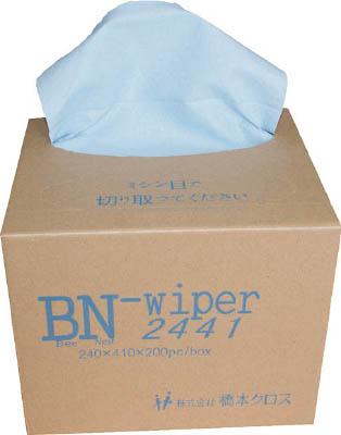 [橋本]橋本 BNワイパー ポップアップタイプ 240×410mm 200枚×6箱/箱 BN2441[環境安全用品 清掃用品 ウエス (株)橋本クロス]【TC】【TN】