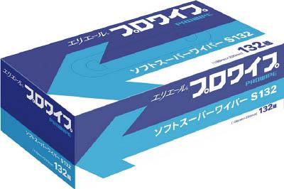 【エリエール】エリエールプロワイプソフトスーパーワイパーS132BOX36個入 703130【TN】【TC】【ウエス】