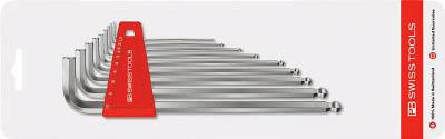 [PBスイスツールズ]PBスイスツールズ ボール付ロング六角棒レンチセット 212LH10CN[作業用品 はしご・脚立 ボールポイント六角棒レンチ PBスイスツールズ社]【TC】【TN】