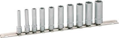 [HAZET]HAZET ディープソケットセット(6角タイプ・差込角6.35mm) 850LG10H[作業用品 作業灯・照明用品 装置照明 HAZET社]【TC】【TN】