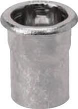 品質のいい ブラインドナット SPH640HEX[生産加工用品 ファスニングツール ポップブラインドナットヘキサタイプ平頭(M6)1000個入リ [POP]POP ポップリベットファスナー(株)PO]【TC】【TN】:ゆにでのこづち-DIY・工具