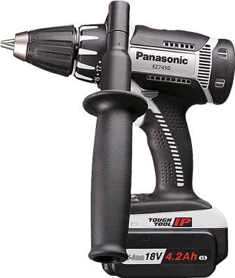 [Panasonic]パナソニック Panasonic 充電ドリルドライバ リチウムイオン18V LSタイプEZ7450LS2SH[作業用品 電動工具・油圧工具 ドリルドライバー パナソニック(株)エコソリューショ]【TC】【TN】