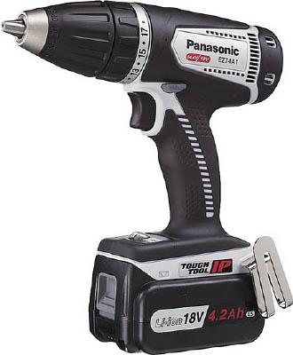 日本製 EZ74A1LS2GH[作業用品 パナソニック(株)エコソリューショ]【TC】【TN】:ゆにでのこづち DUAL 18Vドライバー(グレ-) 電動工具・油圧工具 ドリルドライバー [Panasonic]Panasonic-DIY・工具