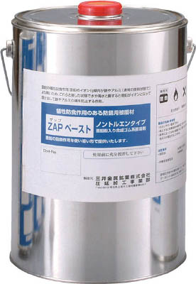 【MSMMBC】ZAPペースト 4000ml缶 ZAPPT3【TN】【TC】【シール剤】