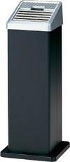 [コンドル]コンドル (灰皿)スモーキング AL-106 黒 YS34LIDBK[環境安全用品 清掃用品 灰皿 山崎産業(株)]【TC】【TN】