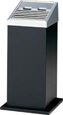 [コンドル]コンドル (灰皿)スモーキング AL-201 黒 YS35LIDBK[環境安全用品 清掃用品 灰皿 山崎産業(株)]【TC】【TN】