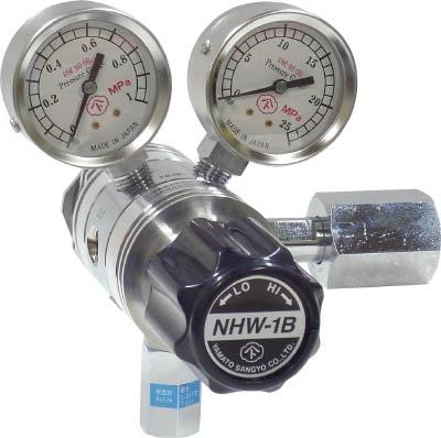 [ヤマト]分析機用フィン付二段圧力調整器 NHW-1B NHW1BTRCCO2[工事用品 溶接用品 家具金物 ヤマト産業(株)]【TC】【TN】