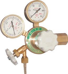 【ヤマト】窒素ガス用調整器(汎用小型) YR-70V YR-70V【TN】【TC】【ヤマト産業/ガス調整器/窒素ガス用調整器】