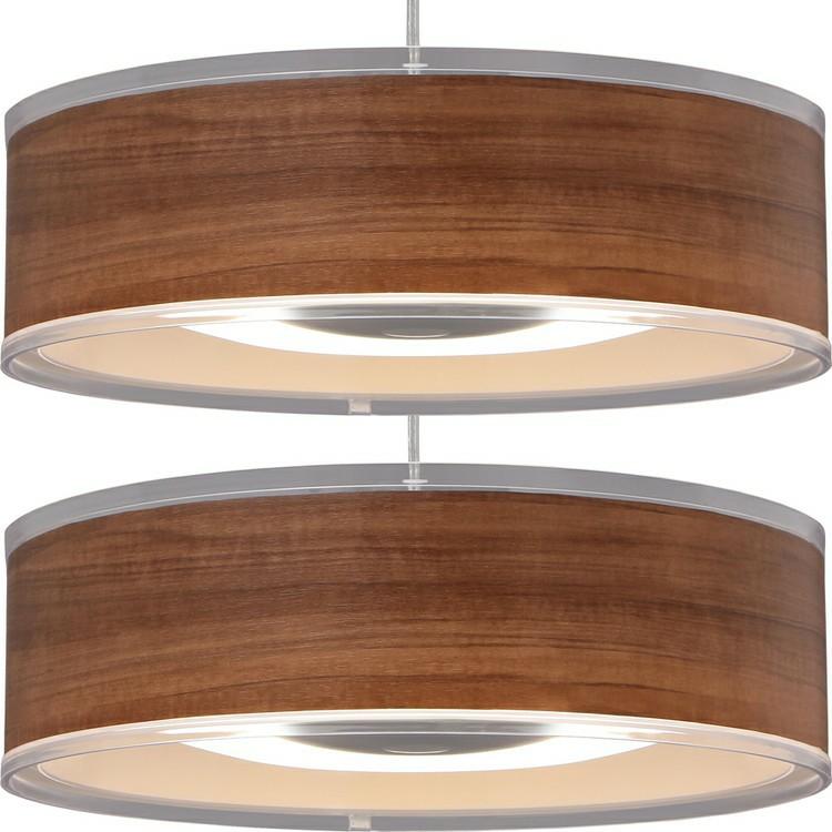 【2個セット】デザインペンダントライト メタルサーキットシリーズ 浅型 8畳 調光 PLM8D-ADWN・O ウォールナットオーク LEDペンダントライト メタルサーキット LEDシーリングライト LEDライト シーリングライト LED照明 LED 照明 アイリスオーヤマ