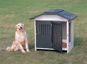 【送料無料】【犬小屋 小型犬用】スチール切妻犬舎 SLH-10【犬小屋 小型犬用 アイリスオーヤマ ペット 屋外ハウス ハウス サークル】