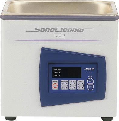 【取寄】【カイジョー】カイジョー 卓上型超音波洗浄機ソノクリー 100D[カイジョー 洗浄機研究管理用品研究機器超音波洗浄機]【TN】【TD】