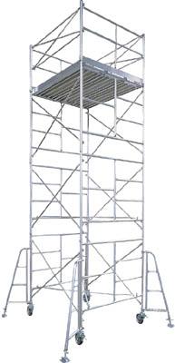 【取寄】【ハセガワ】ハセガワ アルミ製ローリングタワー BMA型 3段 BMA3[ハセガワ ローリングタワー工事用品はしご・脚立高所作業台]【TN】【TC】