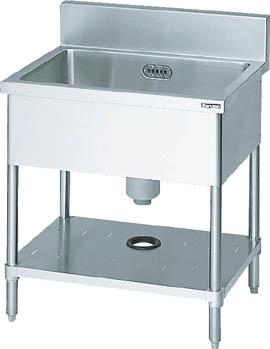 【取寄】【マルゼン】マルゼン 一槽シンク900×600×800(ホース付) BSI096[マルゼン 厨房研究管理用品研究機器流し台]【TN】【TD】