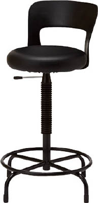 【取寄】【ノーリツ】ノーリツ 背樹脂高作業用チェア CAL205[ノーリツ 椅子オフィス住設用品オフィス家具作業用チェア]【TN】【TD】