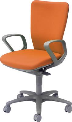 【取寄】【オカムラ】オカムラ 「カロッツァ」 ローバック 肘付 オレンジ CK43GRFS14[オカムラ 椅子オフィス住設用品オフィス家具オフィスチェア]【TN】【TC】