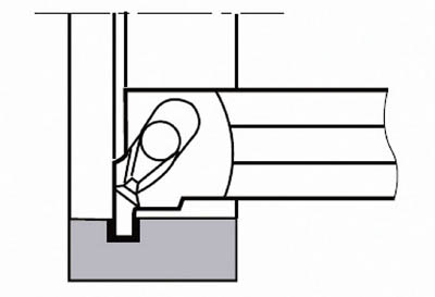 【タンガロイ】タンガロイ 内径用TACバイト CGXR16SC[タンガロイ ホルダー切削工具旋削・フライス加工工具ホルダー]【TN】【TC】
