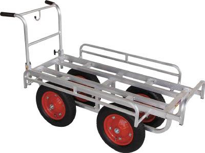 【HARAX】HARAX 愛菜号 CH1334[HARAX 運搬車物流保管用品運搬台車アルミ製運搬車]【TN】【TC】