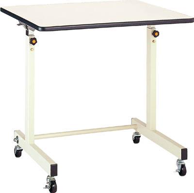 【取寄】【丸善】丸善 ポールチャック式補助デスク 木製テーブル 移動式 750×600mm CS750M1[丸善 作業台物流保管用品作業台昇降式作業台]【TN】【TD】