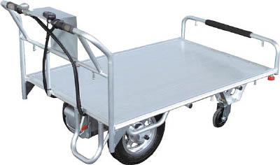 人気商品 【当店イチオシ】【取寄】【アルミス】アルミス 電動平台車 DH4[アルミス 運搬車物流保管用品運搬台車電動台車]【TN】【TD】 10of:ゆにでのこづち-DIY・工具