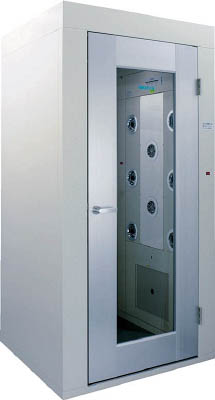 【取寄】【エアーテック】エアーテック エアーシャワー EAS8015AS[エアーテック クリーンルーム研究管理用品理化学・クリーンルーム用品エアシャワー]【TN】【TC】