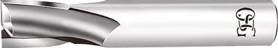 【OSG】OSG ハイスエンドミル 2刃キー溝用 24 OL1 EKDOL124[OSG ハイスエンドミル切削工具旋削・フライス加工工具ハイススクエアエンドミル]【TN】【TC】
