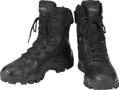 【Bates】Bates DELTA-8 サイドジッパー EW7.5 E02348EW7.5[Bates 靴環境安全用品安全靴・作業靴タクティカルブーツ]【TN】【TC】