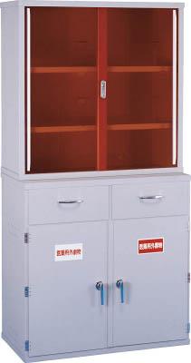 【取寄】【新光】新光 塩ビ薬品庫EY-900セット EY900[新光 デシケーター研究管理用品研究機器保管庫]【TN】【TC】
