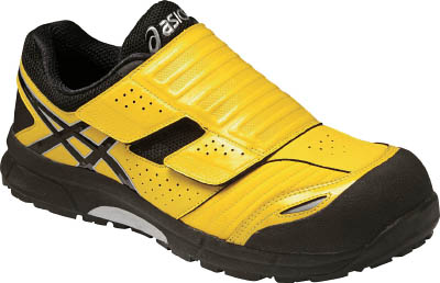 【アシックス】アシックス ウィンジョブCP101 イエローXブラック 25.0cm FCP101.049025.0[アシックス 靴環境安全用品安全靴・作業靴プロテクティブスニーカー]【TN】【TC】