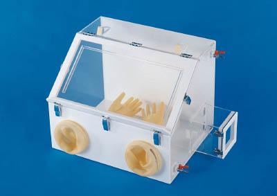 【取寄】【新光】新光 グローブボックス GRB3[新光 デシケーター研究管理用品研究機器研究用設備]【TN】【TC】
