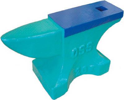 【取寄】【OSS】OSS アンビル(鋳鉄製) 16940FC[OSS 定盤作業用品ハサミ・カッター・板金用工具板金用工具]【TN】【TC】