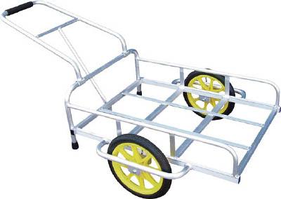 【取寄】【アルミス】アルミス アルミリヤカー 14GATA[アルミス 運搬車物流保管用品運搬車輌機器一輪車・リヤカー]【TN】【TC】