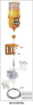 【パルサールブ】パルサールブ Mモデル用マルチポイント給油用遠隔組立キット(3箇所) 1250MD3[パルサールブ 給油器作業用品車輌整備用品・グリスガン自動給油器]【TN】【TC】