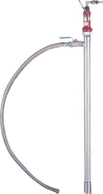 【取寄】【KUK】KUK エアー式ハンディポンプ(SUS製) HP502[KUK ポンプ工事用品ポンプドラム缶用ポンプ]【TN】【TD】