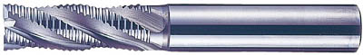 【日立ツール】日立ツール ラフィングエンドミル レギュラー刃 HQR28 HQR28[日立ツール ハイスエンドミル切削工具旋削・フライス加工工具超硬ラフィングエンドミル]【TN】【TC】