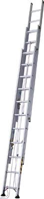 【取寄】【ハセガワ】ハセガワ アップスライダー業務用3連梯子 LA390[ハセガワ 梯子工事用品はしご・脚立はしご]【TN】【TC】