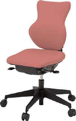 【取寄】【イトーキ】イトーキ 「カシコチェア」 肘無し 背裏ブラック張地 コーラルピンク KE340GJT1M6[イトーキ 椅子オフィス住設用品オフィス家具オフィスチェア]【TN】【TC】