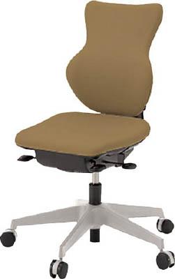 【取寄】【イトーキ】イトーキ 「カシコチェア」 肘無し 背裏ホワイト張地 シュガーブラウン KE340GJW8K3[イトーキ 椅子オフィス住設用品オフィス家具オフィスチェア]【TN】【TC】