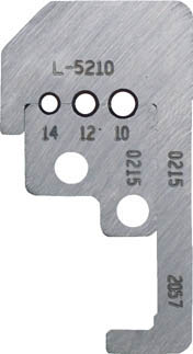 【IDEAL】IDEAL カスタムストリッパー替刃 45‐180用 L5210[IDEAL 航空機用工具作業用品電設工具ワイヤストリッパー]【TN】【TC】
