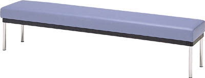 【取寄】【ミズノ】ミズノ ロビーチェア 背無し 青 MC3200[ミズノ 長椅子オフィス住設用品オフィス家具ロビーチェア]【TN】【TD】