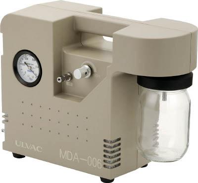 【取寄】【ULVAC】ULVAC ポータブルアスピレーター MDA006[ULVAC ポンプ研究管理用品研究機器研究用設備]【TN】【TC】