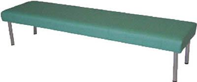 【取寄】【ミズノ】ミズノ ロビーチェア 背無し 緑 MC728[ミズノ 長椅子オフィス住設用品オフィス家具ロビーチェア]【TN】【TD】
