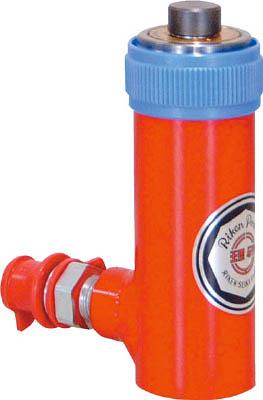 【取寄】【RIKEN】RIKEN 単動式油圧シリンダー MC250T[RIKEN 油圧機器工事用品ウインチ・ジャッキポンプ式ジャッキ]【TN】【TC】