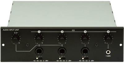 【ユニペックス】ユニペックス 入力ユニット MU600[ユニペックス 音響機器環境安全用品安全用品トランシーバー]【TN】【TD】